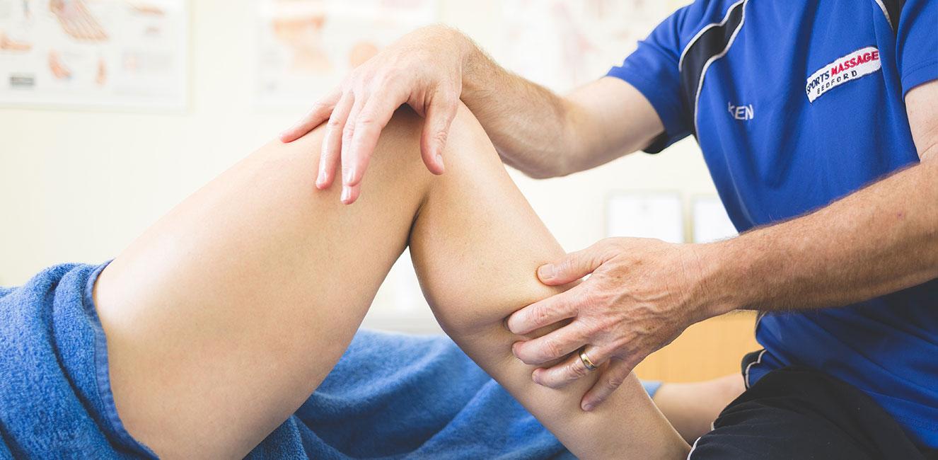sports massage bedford leg massage bedford